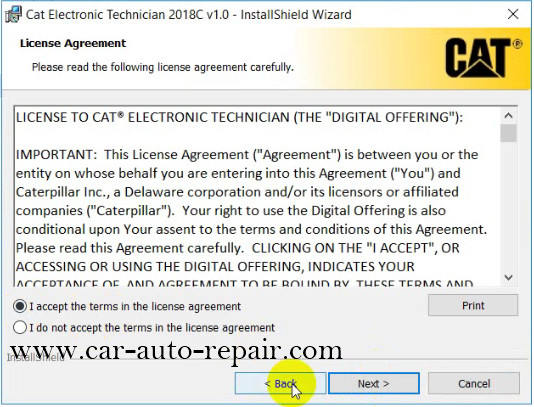 How to Install & Activate Cat Electronic Technician 2018C (5)