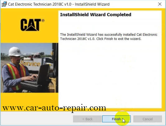 How to Install & Activate Cat Electronic Technician 2018C (8)