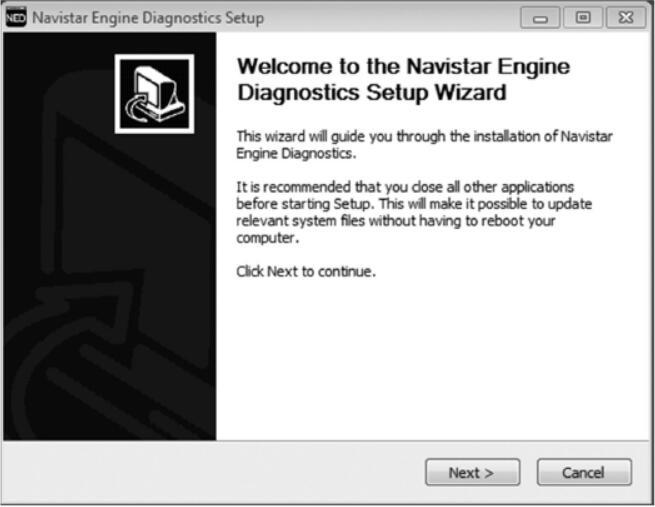 How to Install Navistar Engine Diagnostics Software (1)