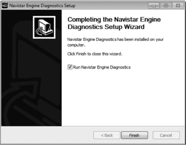 How to Install Navistar Engine Diagnostics Software (3)