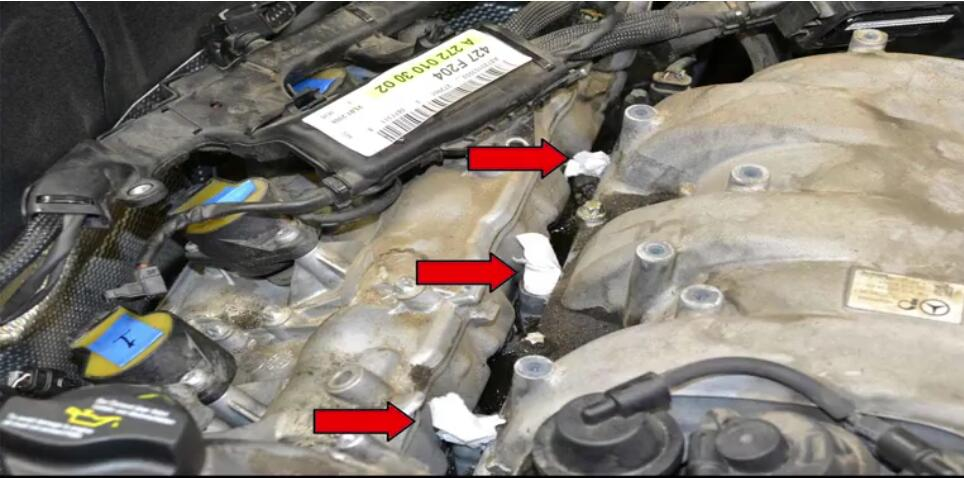 How to Remove Mercedes Benz Intake Manifold (19)