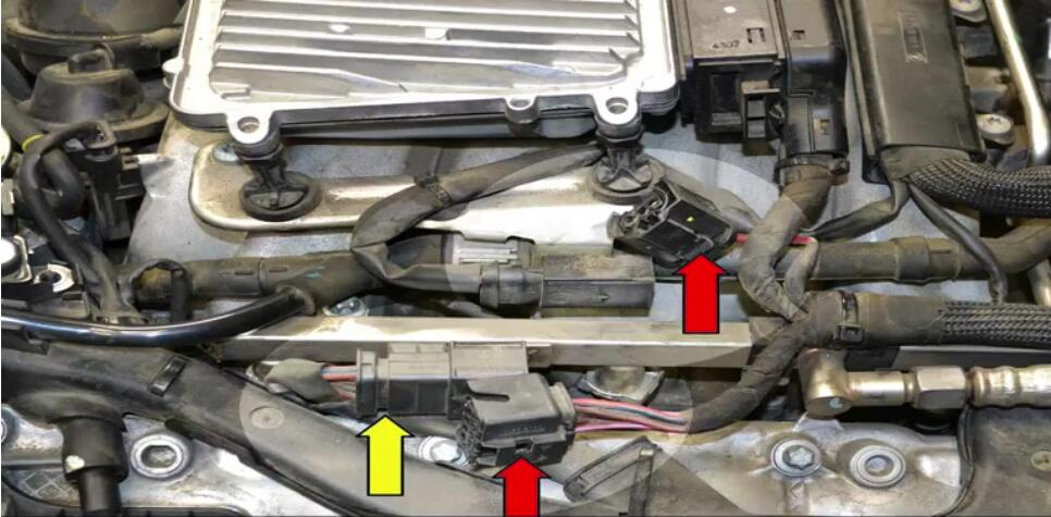 How to Remove Mercedes Benz Intake Manifold (2)