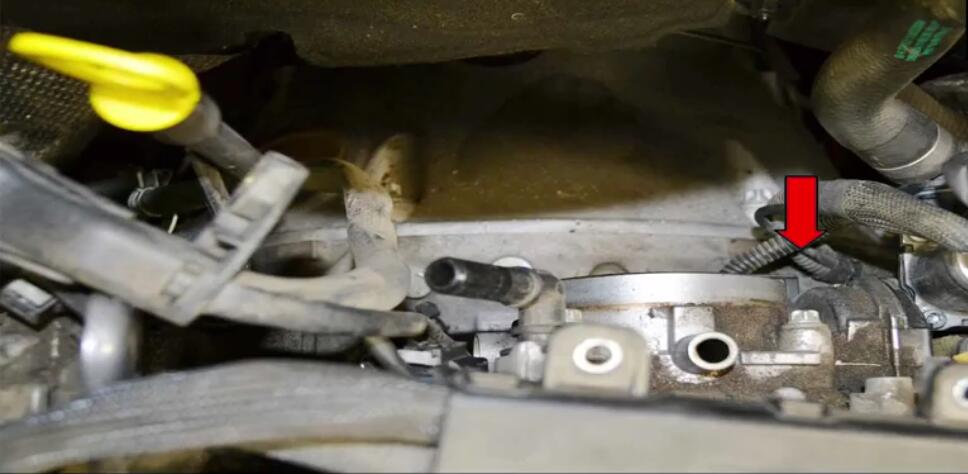 How to Remove Mercedes Benz Intake Manifold (23)