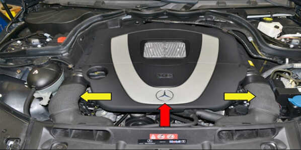 How to Replace Camshaft Position Sensor for Mercedes Benz (1)