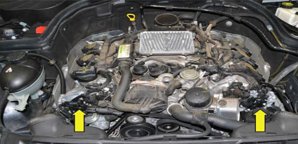 How to Replace Camshaft Position Sensor for Mercedes Benz (2)
