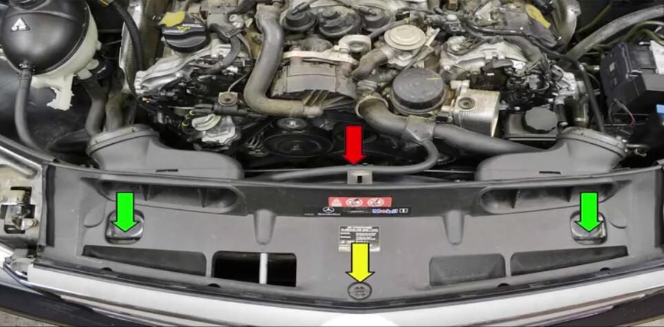 How to Replace Power Steering Pump for Benz W204 (2)