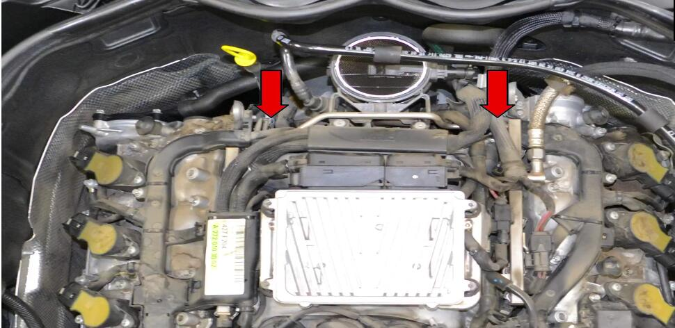 How to Replace Tumble Flap Position Sensor for Benz C350
