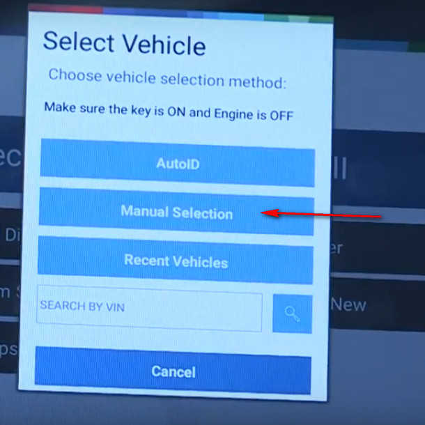 How to Use Bosch ADS 625 ADS 325 to Identify a Vehicle (10)