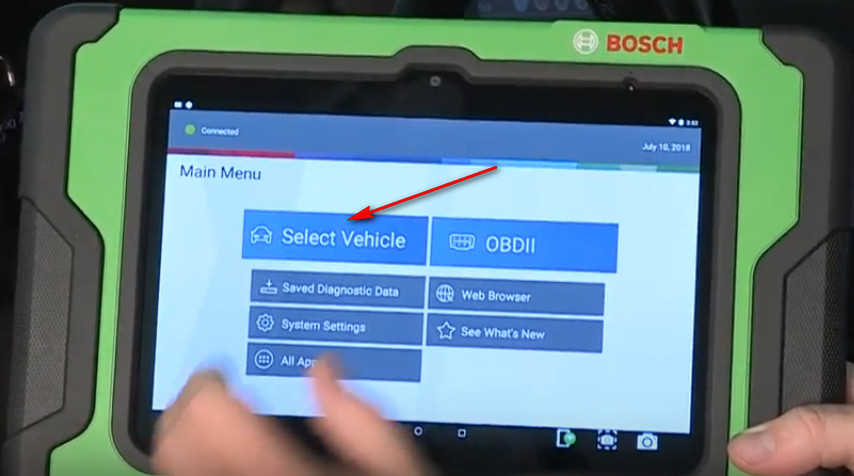 How to Use Bosch ADS 625 ADS 325 to Identify a Vehicle (2)