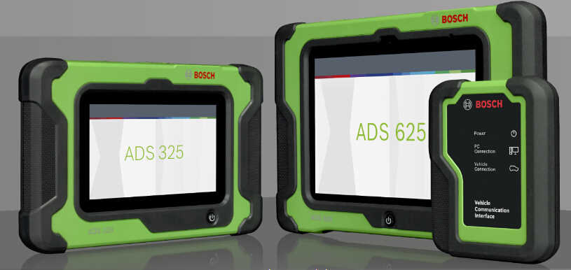 How to Use Bosch ADS625 and ADS325 Diagnostic Tools (1)