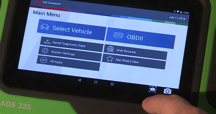 How to Use Bosch ADS625 and ADS325 Diagnostic Tools (12)