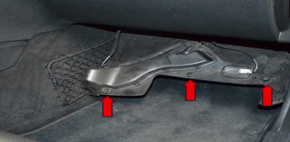 Mercedes Benz W204 Fottwell Temperature Sensor Replacement |Auto