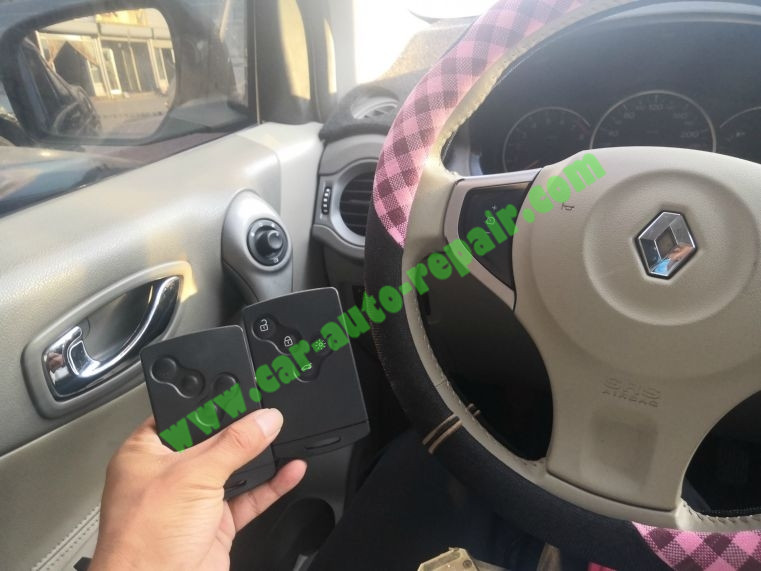 Renault Koleos Smart Card Programming Via XTOOL PAD2 Tips