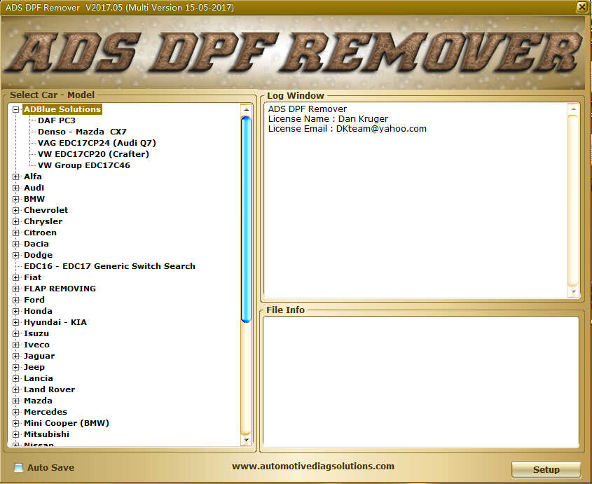 DPF EGR Lambda Remover Software Download & Installation & Activation