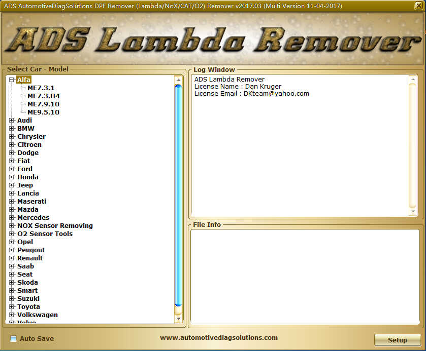 DPF EGR Lambda Remover Software Download & Installation