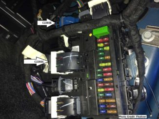 FORScanFord F150 Overhead Console Intrusion Sensor Retrofit (1)