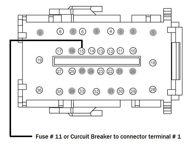 FORScanFord F150 Overhead Console Intrusion Sensor Retrofit (2)