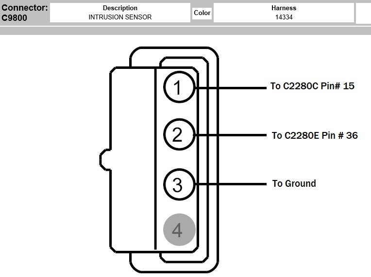 FORScanFord F150 Overhead Console Intrusion Sensor Retrofit (4)