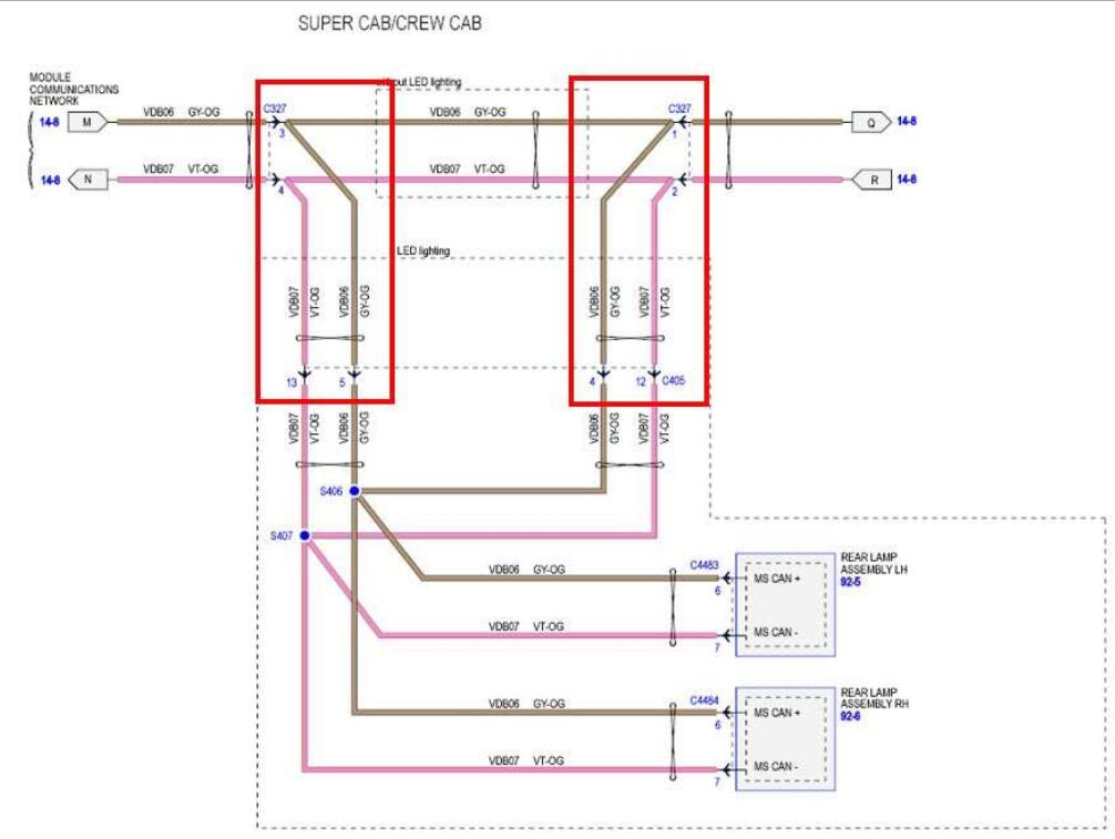 Ford F150 2015 Blind Spot Information System (BLIS) Installation Guide (5)
