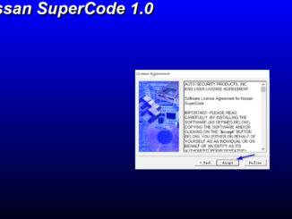 Nissan SuperCode Super Code Calculator Downoad (3)