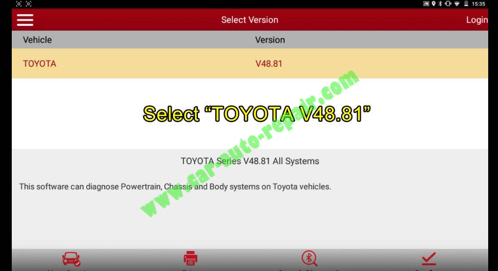 Toyota Crown 2013 Keys & Remote Programming by Launch X431 (1)