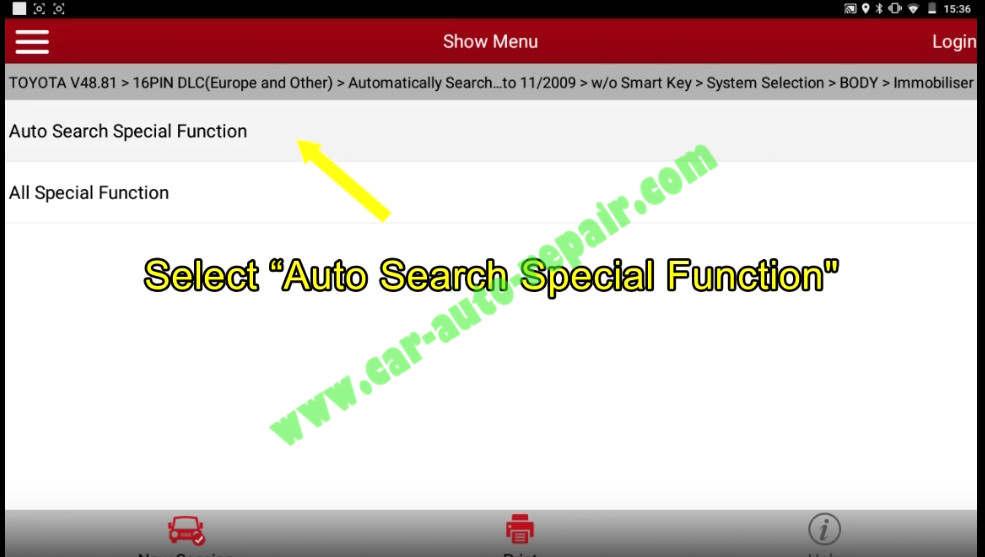 Toyota Crown 2013 Keys & Remote Programming by Launch X431 (10)