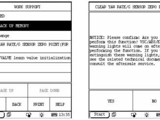 Launch X431 Perform ECU Backup Memory Clear/Initialization2