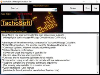 Tachosoft Mileage Calculator 23.1 Crack Free Download