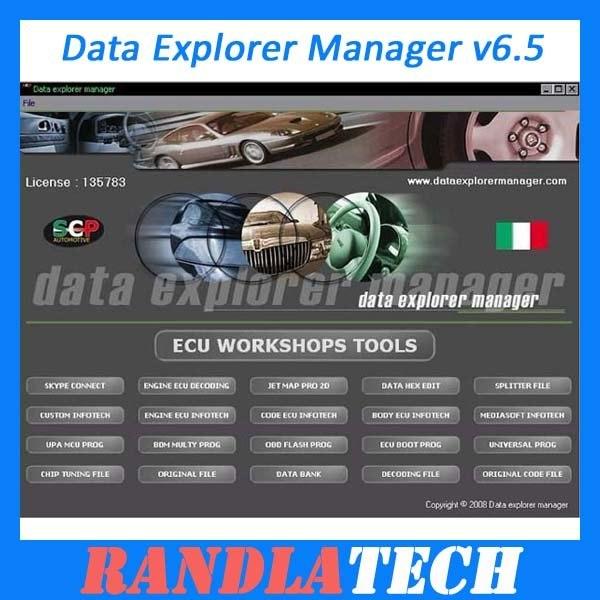 Data Explorer Manager v6.5 Crack Free Download