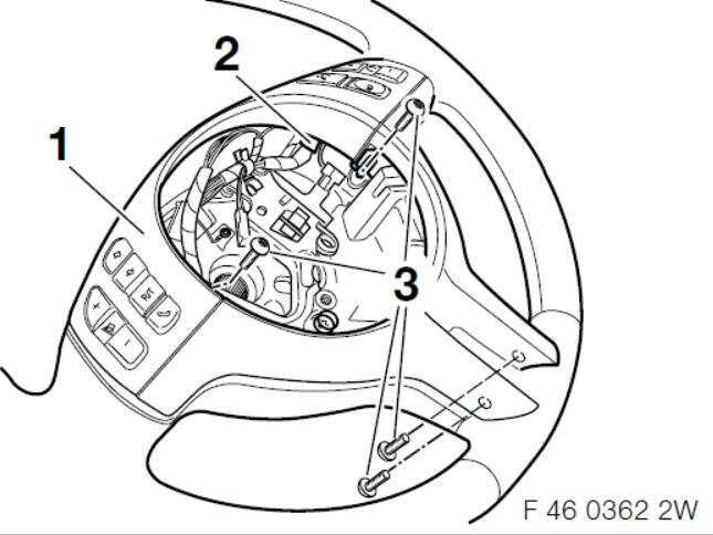 BMW Multi-Function Steering WheelCruise Control Retrofit Guide (17)