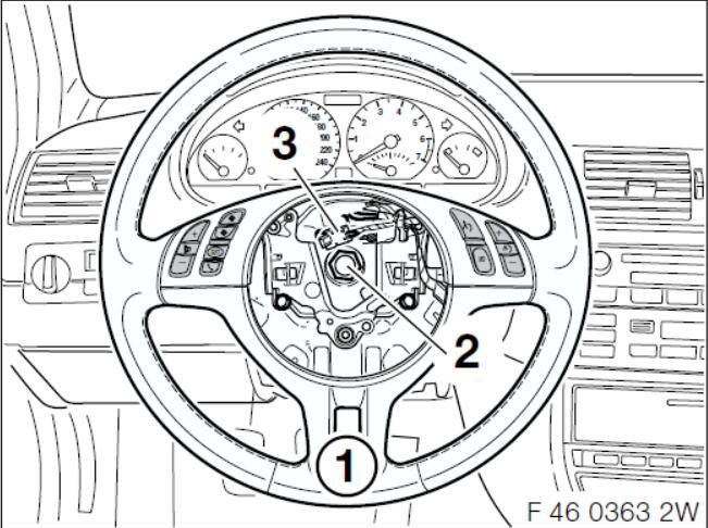 Руководство по модернизации многофункционального рулевого колеса BMW Cruise Control (19)