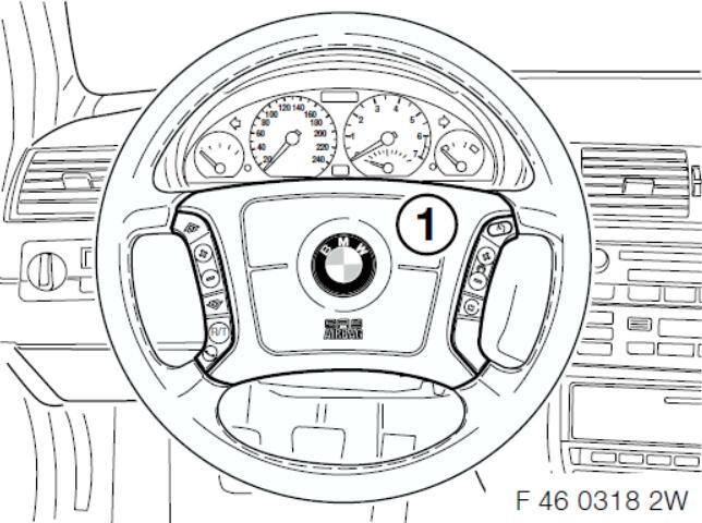 BMW Multi-Function Steering WheelCruise Control Retrofit Guide (21)