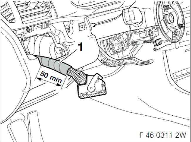 BMW Multi-Function Steering WheelCruise Control Retrofit Guide (6)