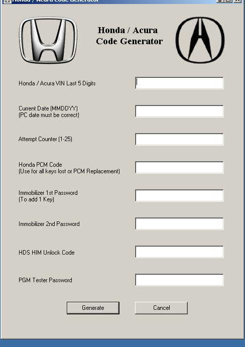 Crack Honda Acura Code Generator Full Download (1)