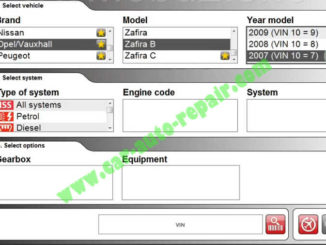 Delphi DS150E Car Read and Clear Trouble Codes for Opel Zafira B 2007 (1)