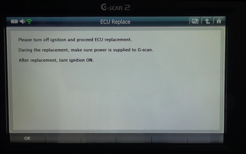 Gscan2 Ssangyong Rexton 2014 ECU Replacement (11)