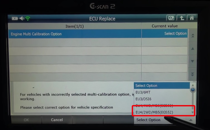 Gscan2 Ssangyong Rexton 2014 ECU Replacement (14)