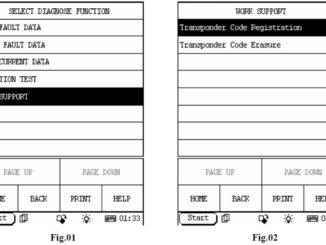 Launch X431 Register Toyota Transponder Code