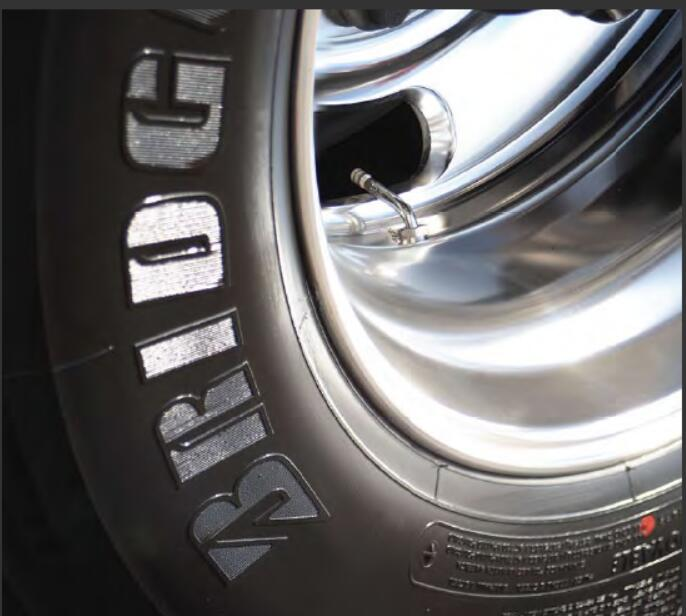 Tires BalanceBridgestone Tires Red & Yellow Dots (1)