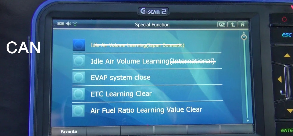 G-scan2 Perform Idle Air Volume Learning for Nissan (11)
