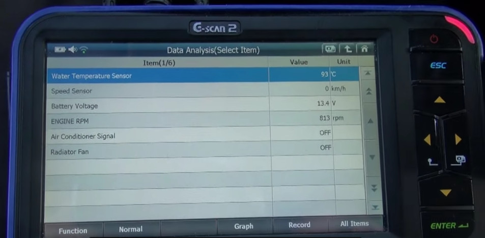 G-scan2 Perform Idle Air Volume Learning for Nissan (8)
