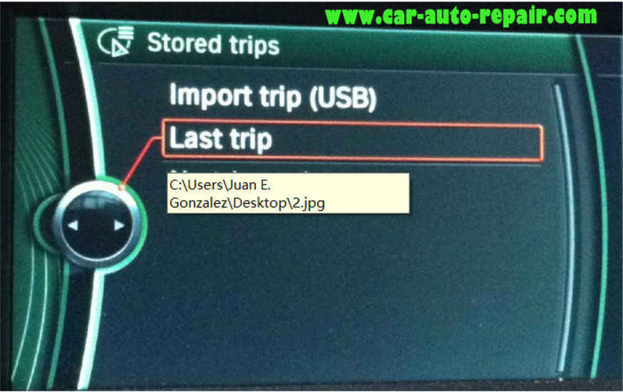 Google MapsGoogle Earth Routes for BMW Navigation System (14)