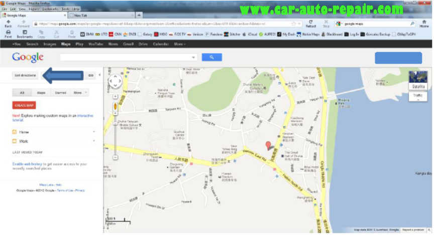 Google MapsGoogle Earth Routes for BMW Navigation System (3)
