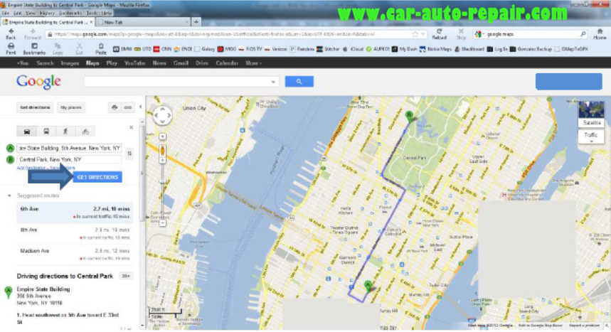 Google MapsGoogle Earth Routes for BMW Navigation System (4)