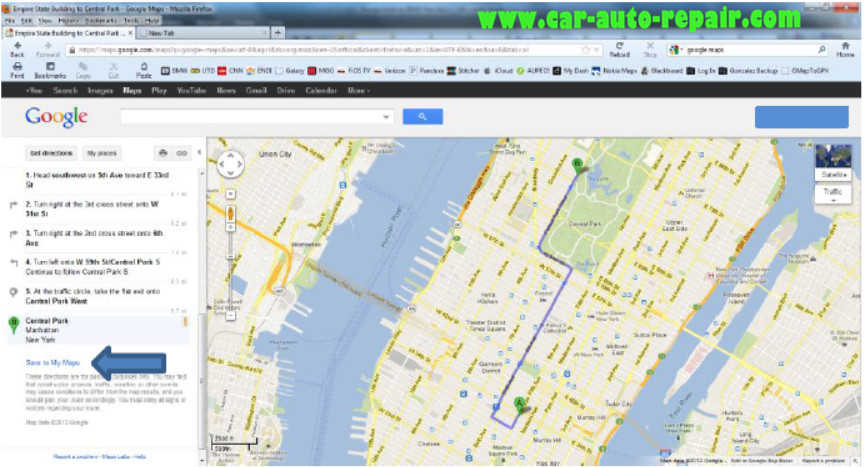 Google MapsGoogle Earth Routes for BMW Navigation System (5)