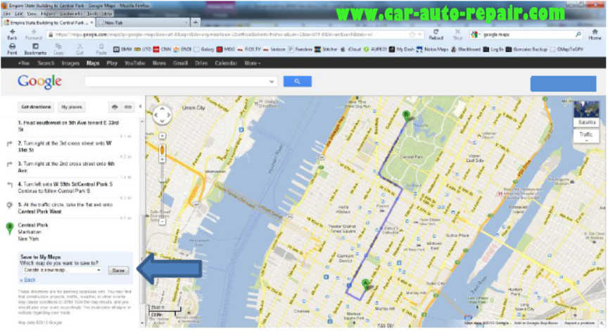 Google MapsGoogle Earth Routes for BMW Navigation System (6)
