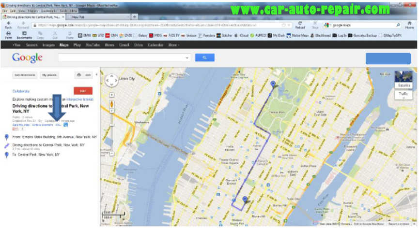 Google MapsGoogle Earth Routes for BMW Navigation System (7)