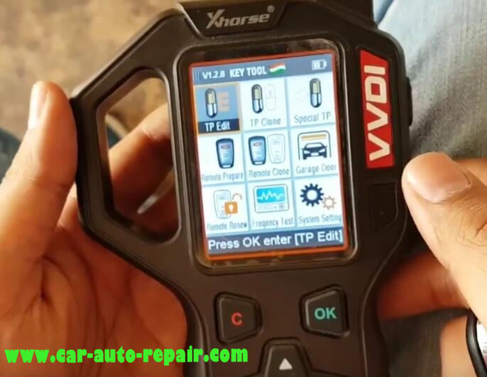 Tata Vista & Manza Remote Programming by VVDI Key Tool (1)