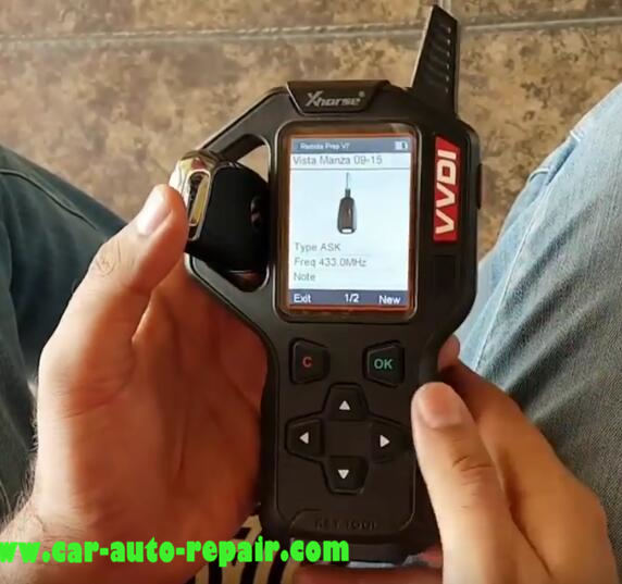 Tata Vista & Manza Remote Programming by VVDI Key Tool (4)