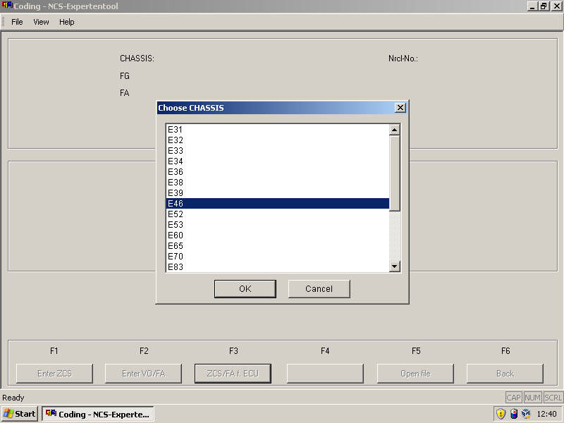 BMW E46 Type Pressure Monitoring Coding by INPA NCS Expert (3)
